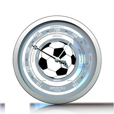 Барометр RST07873 meteo Al 873 stainless steel. Футбол