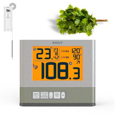 Высокотемпературный термометр для бани с радио-датчиком