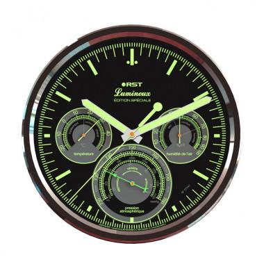 Настенные часы - метеостанция RST Lumineux 77741