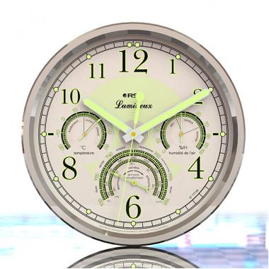 Настенные часы - метеостанция RST Lumineux 77749