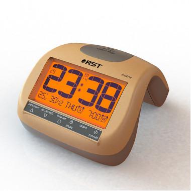 Настольные радиоконтролируемые часы-будильник Snail 118